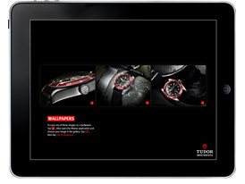 Apple iPad Tudor Black Bay