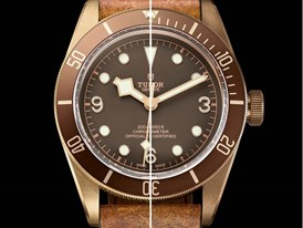 TUDOR Heritage Black Bay Bronze 5 brown leather brown