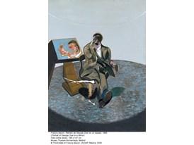 Francis Bacon, Retrato de George Dyer en un espejo, 1968