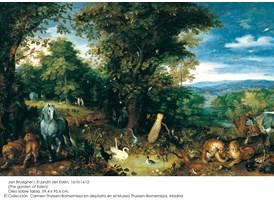Jan Brueghel, El jardín del Edén, 1610-1612