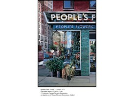 Richard Estes, People's Flowers, 1971