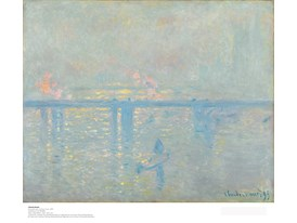 Claude Monet, El puente de Charing Cross, 1899