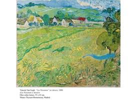 """Vincent Van Gogh, """"Les Vessenots"""" en Auvers, 1890"""