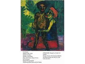Nolde - Mother And Boy