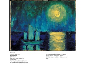 Nolde - Moonlit Night