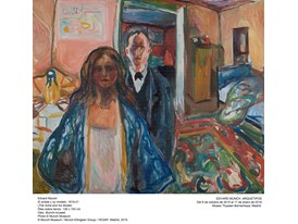 Munch - The Artist and his Model - 1919-1921