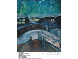 Munch - Starry Night - 1922-1925
