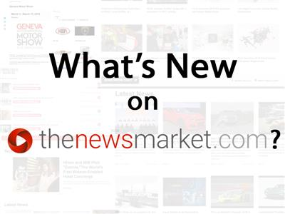 What's New on thenewsmarket.com?