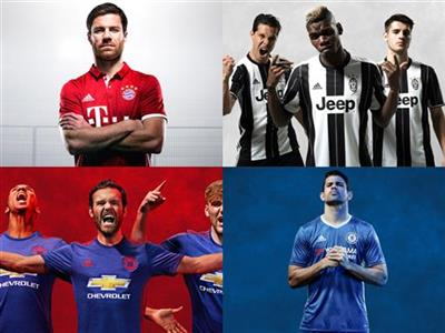 Football/Soccer Kits 2016/17