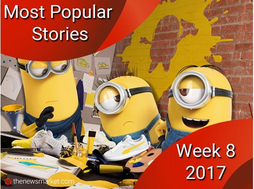 Most Popular Stories - Week 8, 2017