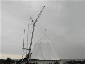 Installation of the New Membrane, Time-lapse