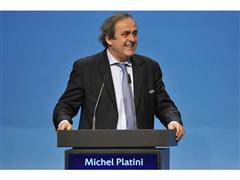 Michel Platini re-elected as UEFA President