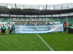 [Pre-alert] UEFA supports the Centre for Access to Football in Europe