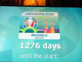 UEFA EURO 2020 Host City Logo Launch – Brussels