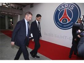 UEFA President visits PSG