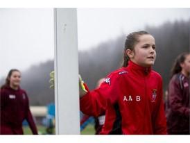 Girl Goalkeeper