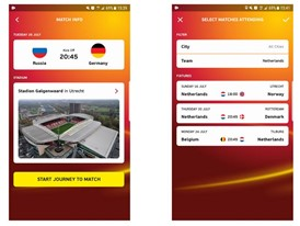 Active Match App at UEFA Women's EURO 2017