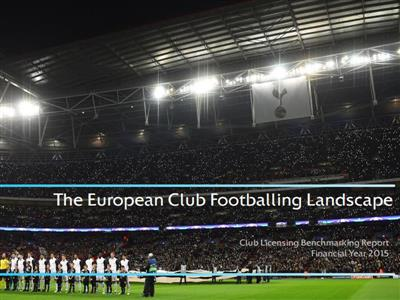 UEFA club licensing benchmarking report
