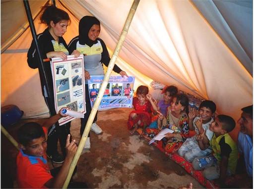 Khanaquin Tent
