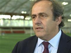 UEFA President visits St. George's Park