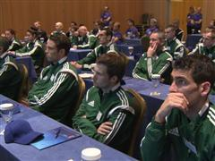 Europe's referees gather for UEFA Winter Course