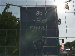 Blind football at UEFA Champions Festival
