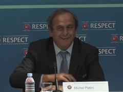 UEFA President Calls for Respect