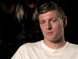 TONI KROOS 1 (DE) (on being voted as a part of UEFA.com users' Team of the Year 2014)