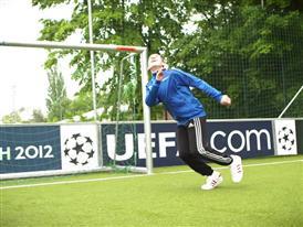 Munich: thriving grassroots football on UEFA maxi-pitch