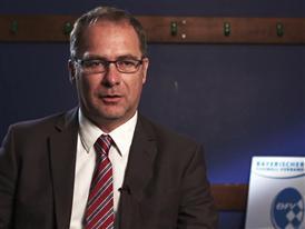Bernhard Slawinski 1, Chairman of the Munich district of the Bavarian Football Association