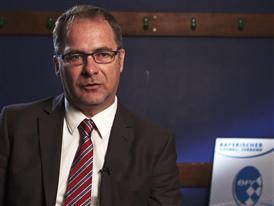Bernhard Slawinski 2, Chairman of the Munich district of the Bavarian Football Association