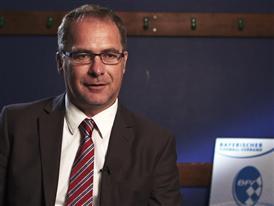 Bernhard Slawinski 3, Chairman of the Munich district of the Bavarian Football Association