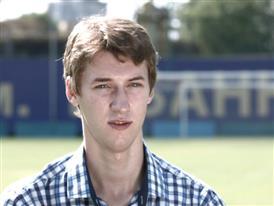 Serhyi Moskaliuk, intern for the Football Federation of Ukraine 2