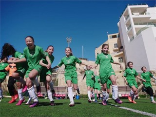 Boosting the women's game in Malta