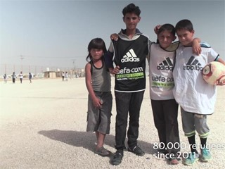 UEFA Foundation for Children Extends Its Support to Communities and Schools in Jordan