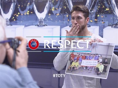 Interview of Sergio Ramos on football for rehabilitation - English