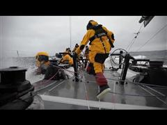Massive Waves Take Toll on Fleet in Southern Ocean During Leg 5