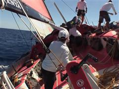 Leg 0 - Dongfeng Sail Drop