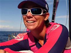 Team SCA separated from the pack and crossed first the Strait of Gibraltar