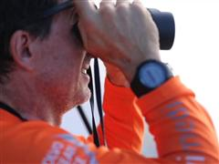 The Volvo Ocean Race fleet and the Spanish Army patrol - false alarm and nice encounter