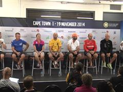 In Port Race Press Conference in Cape Town