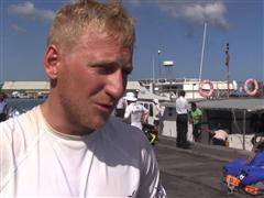 VIDEO INTERVIEW - Peter Wibroe (Team Vestas Wind) in Danish