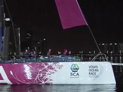 Team SCA Crosses Abu Dhabi's Finish Line and Wraps Up Leg 2