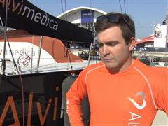 Pre-Leg 3 interview with Charlie Enright (USA)