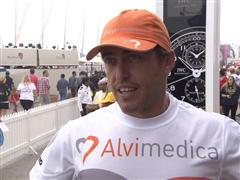 Leg 3 Start Interview with Alberto Bolzan (ITA)