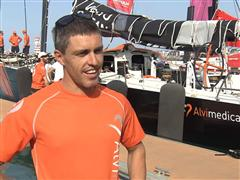 Pre-Leg 4 Interview with Alberto Bolzan (ITA)