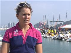 Pre-Leg 4 Interviews with Samantha Davies (GBR)