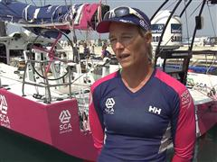 Pre-Leg 4 Interviews with Carolijn Brouwer (NED)