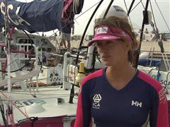 Pre-Leg 4 Interview with Justine Mettraux (SUI)