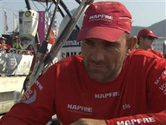 Sanya's Team Vestas Wind Interview with Xabi Fernandez (ESP)